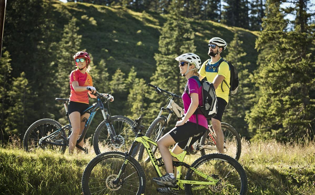 Mountainbike-Action im Salzburger Land