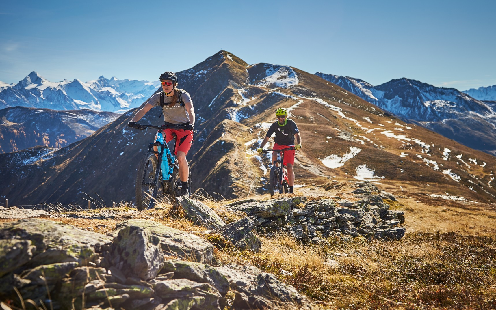 Mountainbiken, Downhill, Cross Country im Bikecircus Saalbach-Hinterglemm