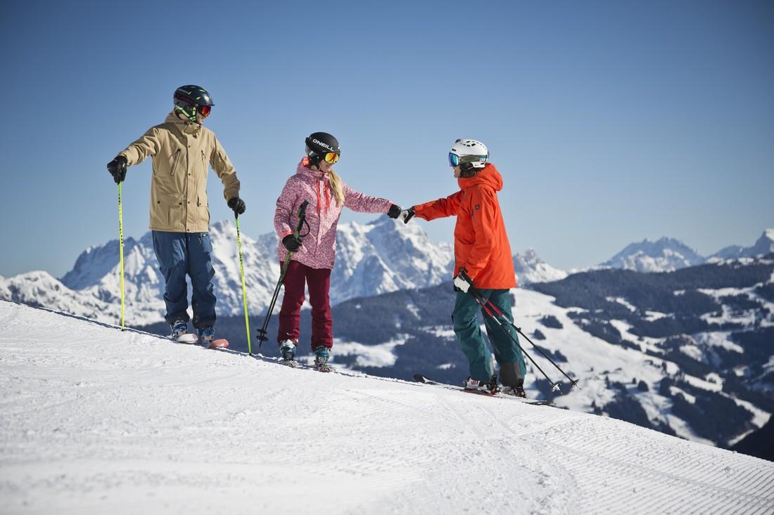 Beste Pisten für Skivergnügen pur in Saalbach-Hinterglemm