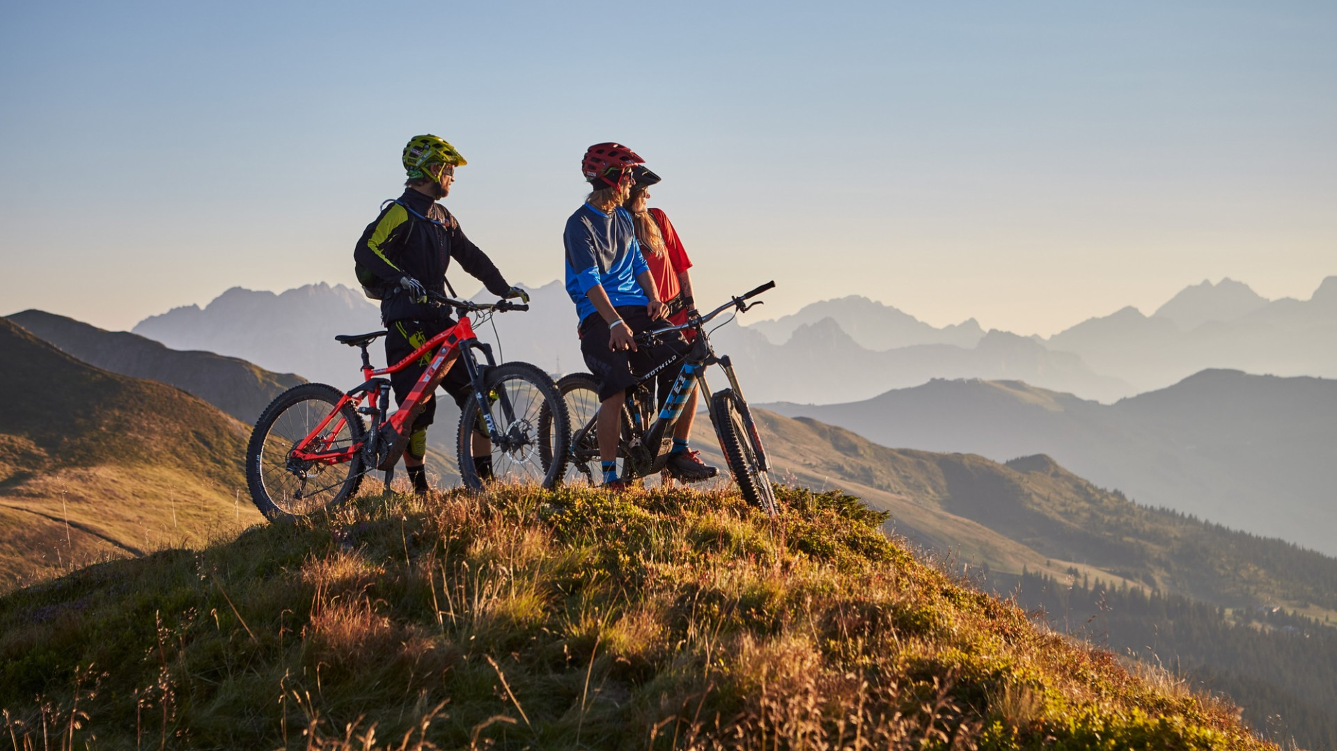 Bike-action in Saalbach-Hinterglemm