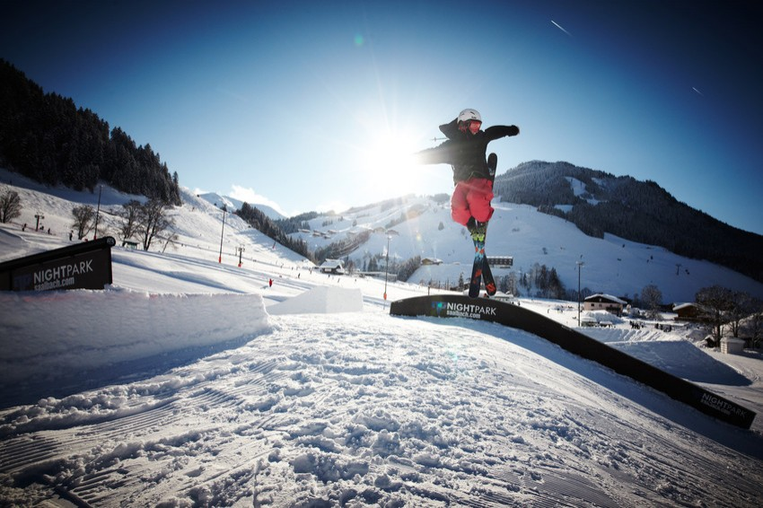 Funparks for Action: Skicircus Saalbach-Hinterglemm Leogang, directly at the Resort