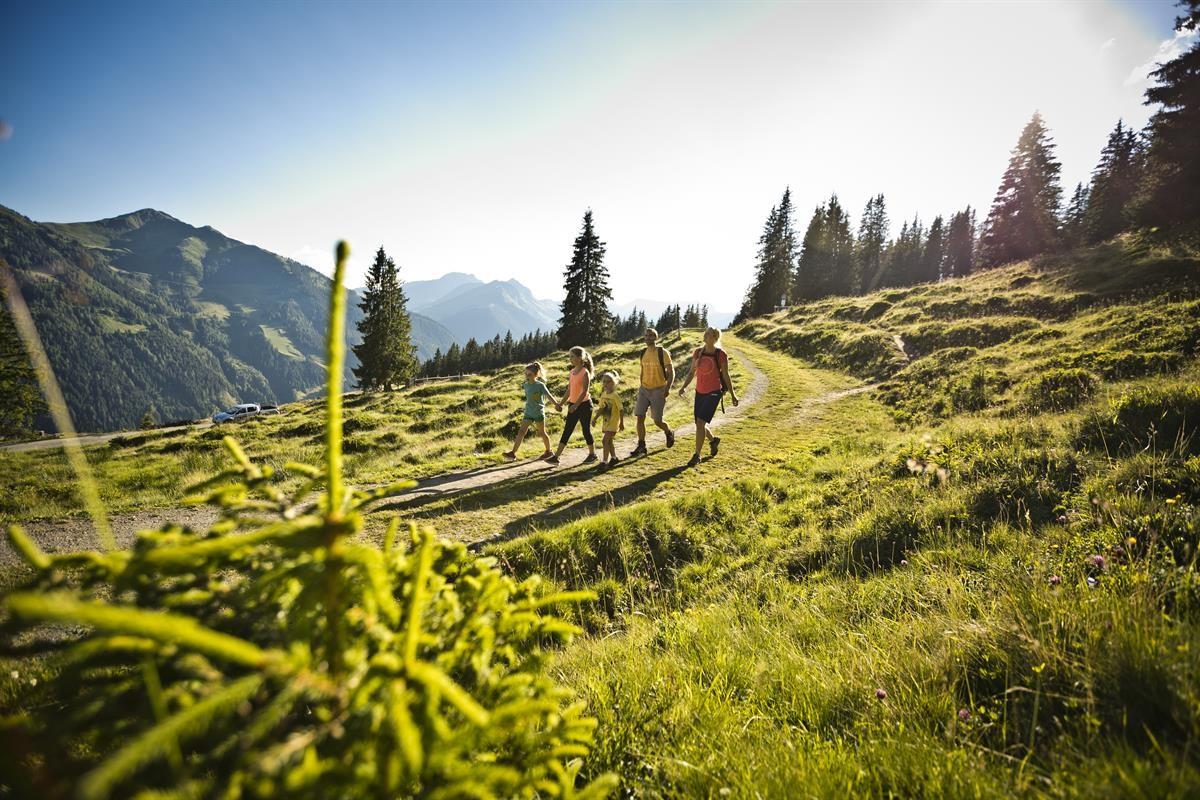 Familien Wanderung im Salzburger Land