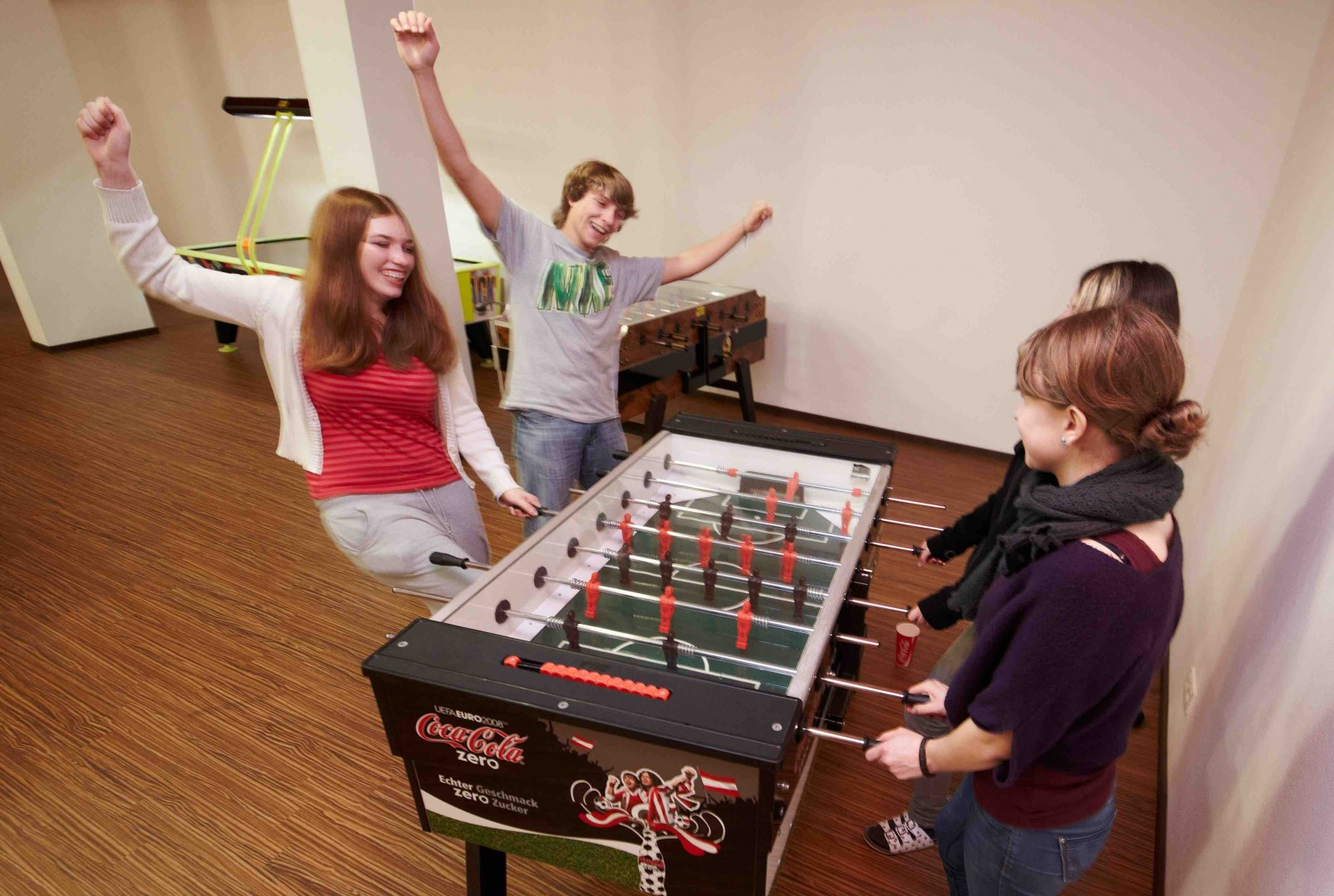 Tabletop Soccer at the Young Generation Resort Buchegg