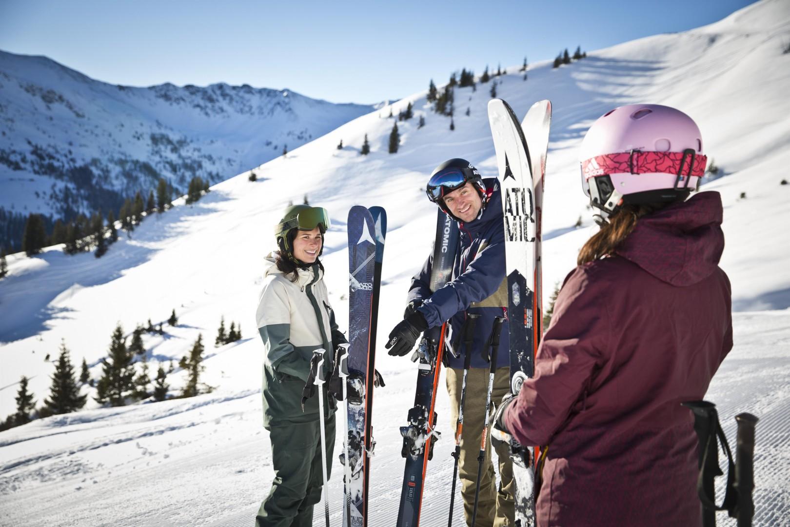 Freeride und mehr im Skigebiet Saalbach-Hinterglemm Leogang