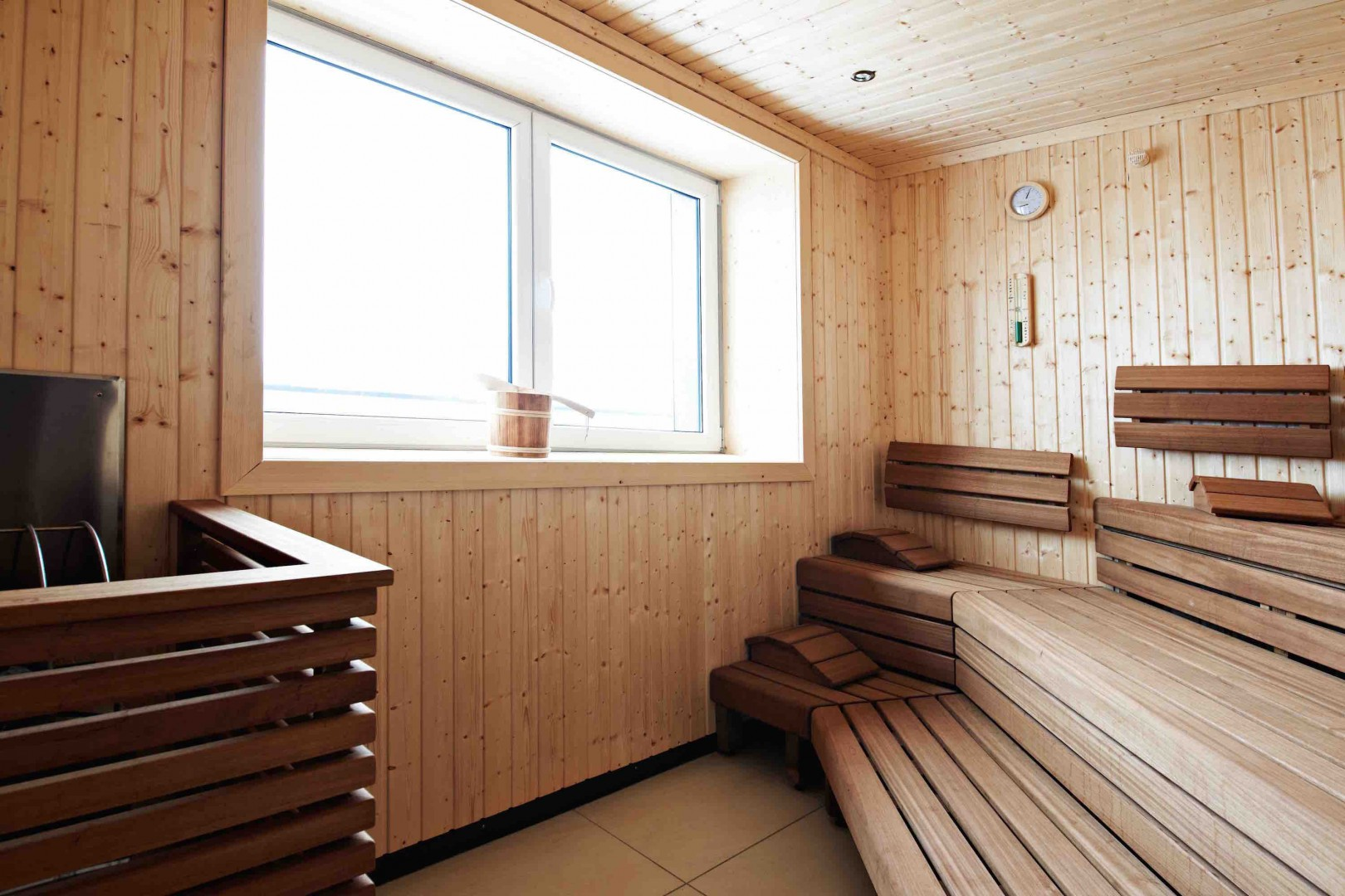 Sauna at the Young Generation Resort Buchegg