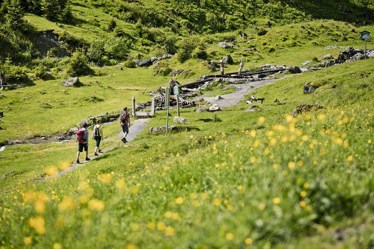 Wandern in der Nähe des Resorts, mitten im Bikecircus Saalbach-Hinterglemm