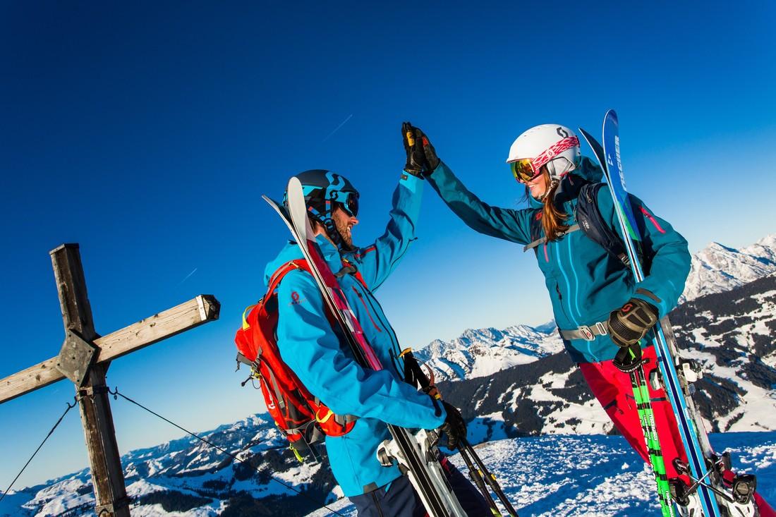 Skifahren im Skicircus Saalbach-Hinterglemm