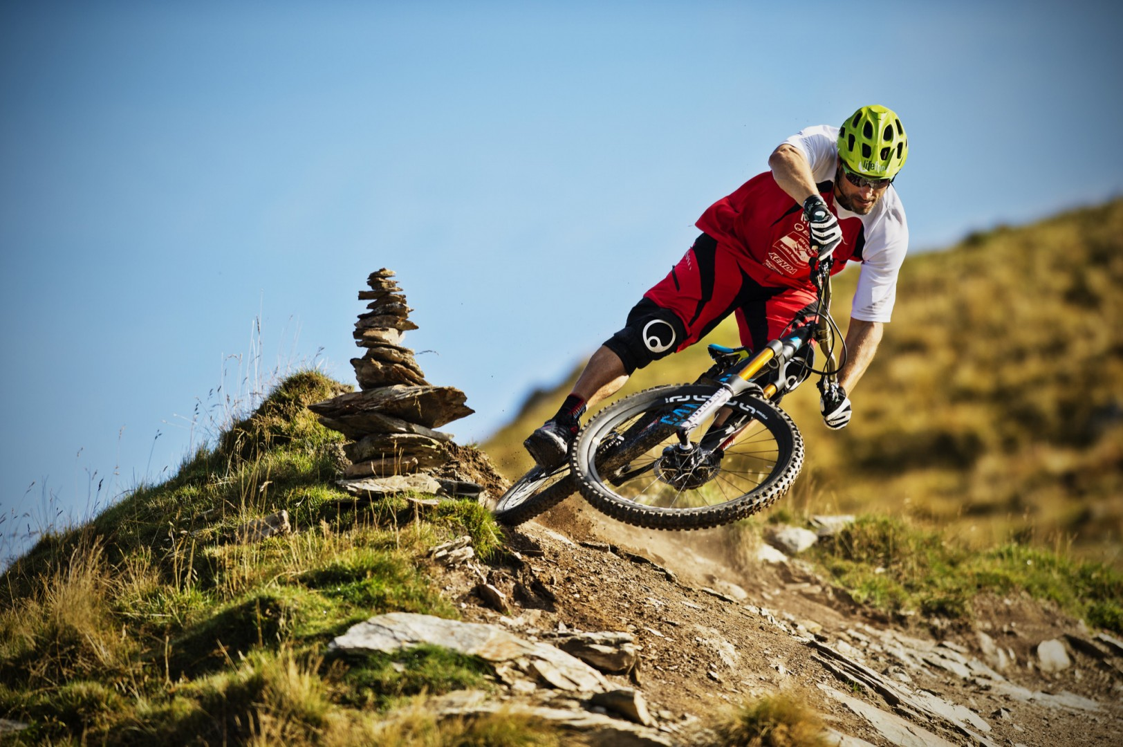 Mountainbiken, Downhill, Cross Country im Bikecircus Saalbach-Hinterglemm