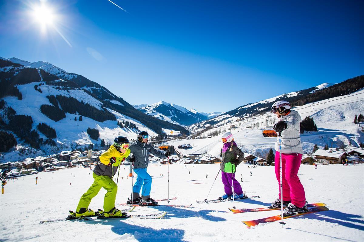 Ideales Skigebiet für Kinder: der Skicircus Saalbach-Hinterglemm Leogang